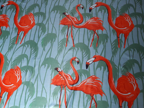 Flamingo Design Fabric