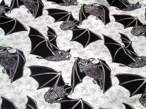 Bats and Insects Fabric