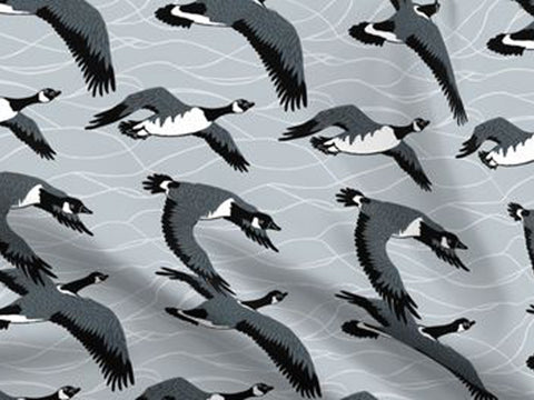 Canadian Geese Fabric