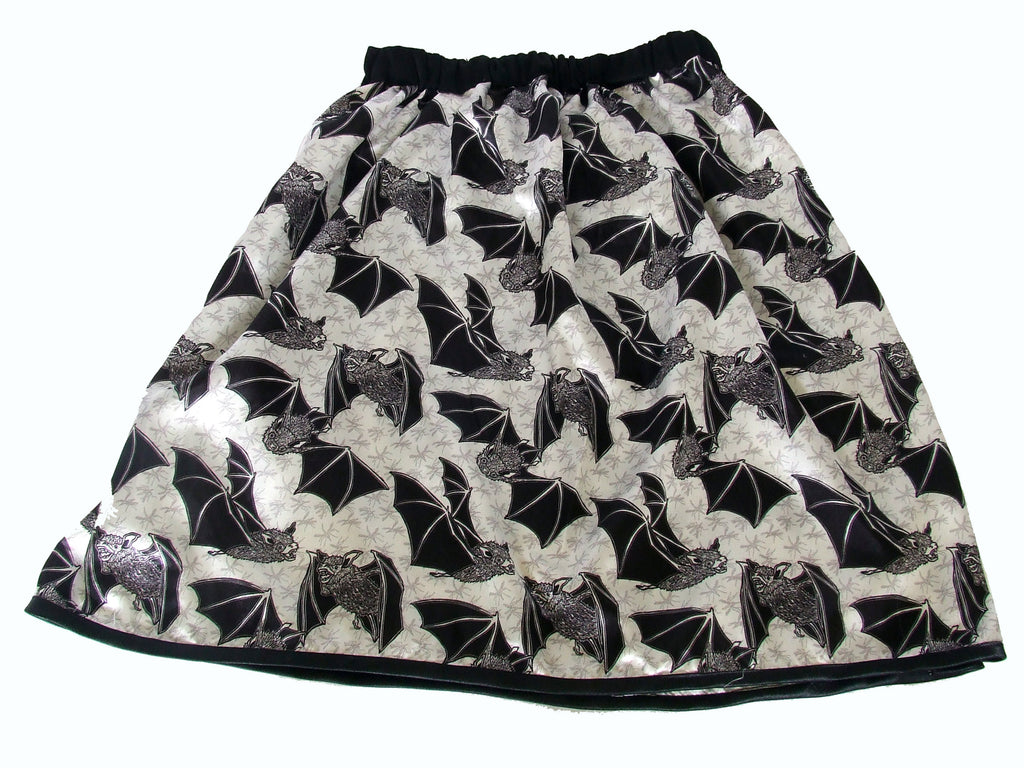 Skirt with Elastic Waistband