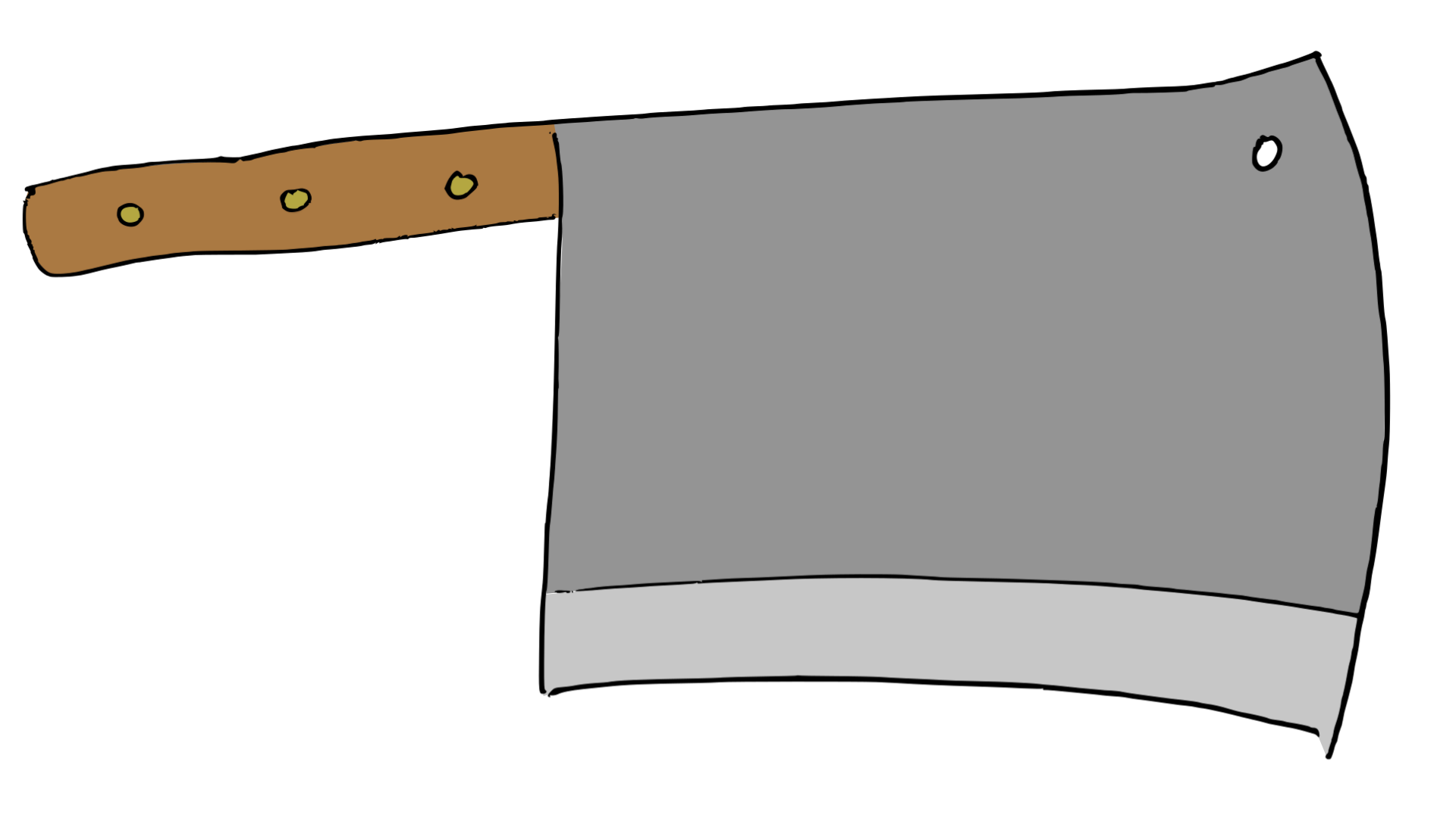Buthcer's knife