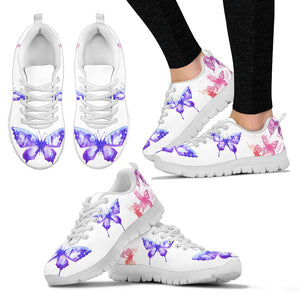 Butterfly Stylish Mesh Sneakers