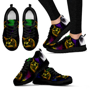 Cat Furry Lightweight Mesh Sneakers