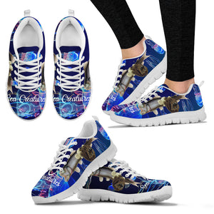 Sea Creature Lightweight Mesh Sneakers