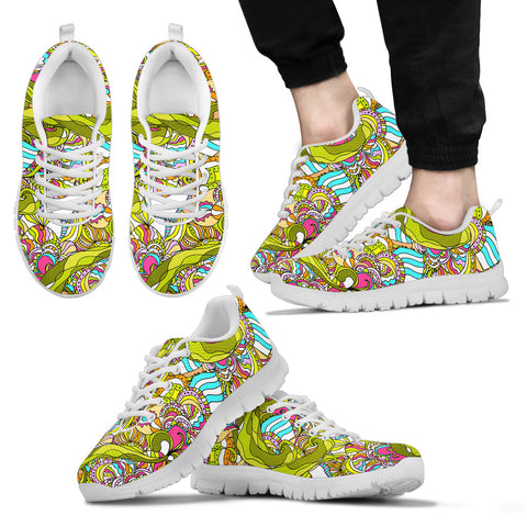 Art Abstract Lightweight Mesh Sneakers