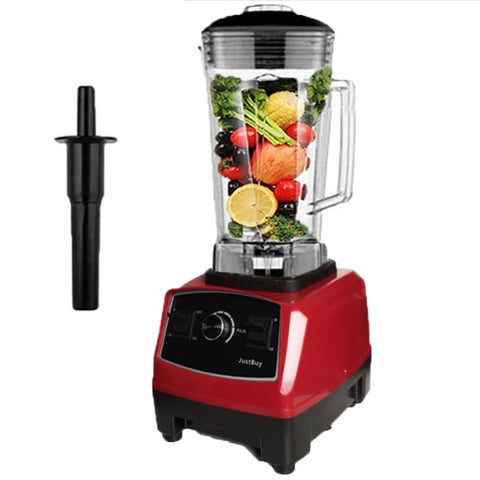 Image of Professional-Grade, 2200W Heavy Duty Blender with Juicing Beginners Guide Book