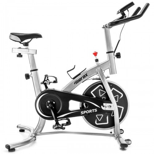 Merax Stationary Professional Indoor Cycling Bike S280 Trainer Exercise Bicycle with 24 lbs. Flywheel, Multiple Colors
