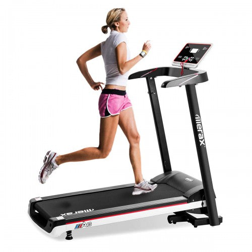 P PURLOVE Treadmill Folding Electric Treadmill Power Motorized Running Machine Treadly Treadmill for Running