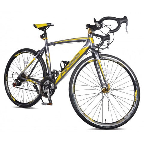 Image of Merax Finiss Aluminum 21 Speed 700C Road Bike Racing Bicycle