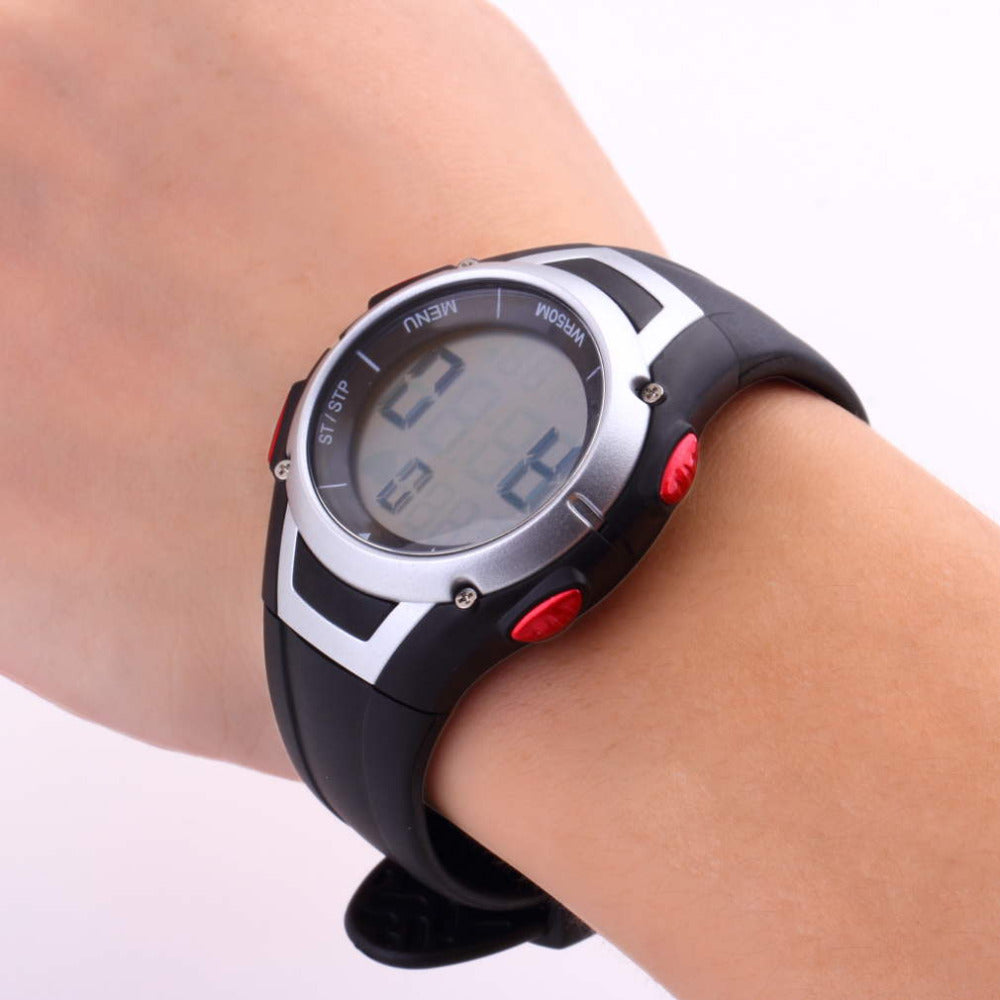 1Pcs Heart Rate Monitor Sport Fitness Waterproof Wireless With Chest Strap