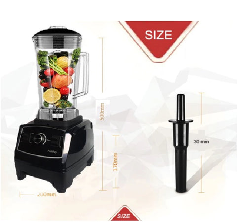 Portable Electric Juicer Bundle with Heavy Duty Blender and Juicing for Beginners Guide Book