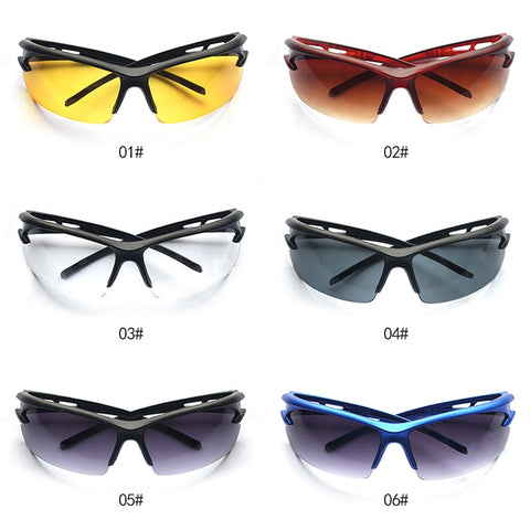 Image of 2018 Top Selling Cycling Glasses UV400 Sunglasses Men Mtb Sport Bike Bicycle Googles Eyewear gafas oculos ciclismo Drop ship