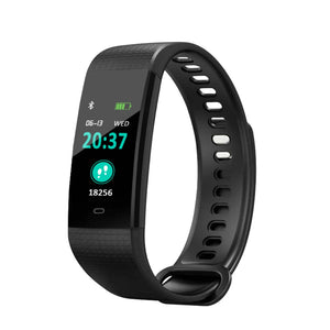 Smart Blood Pressure Monitor Heart Rate Fitness Tracker Pedometer Running Step Counter Wrist Watch