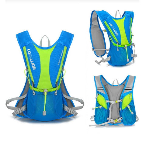 "Image of B Line Life ""Top Speed 2.2"", 2 Liter  (70 oz) Running Hydration Pack  Lightweight Backpack (BPA Free) 2 Pack"
