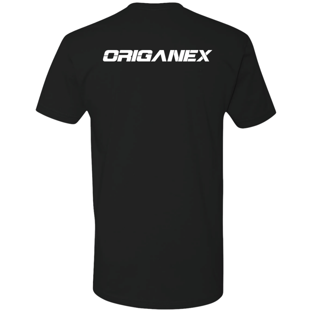 Origanex Next Level Premium Short Sleeve T-Shirt with Front and Back Design