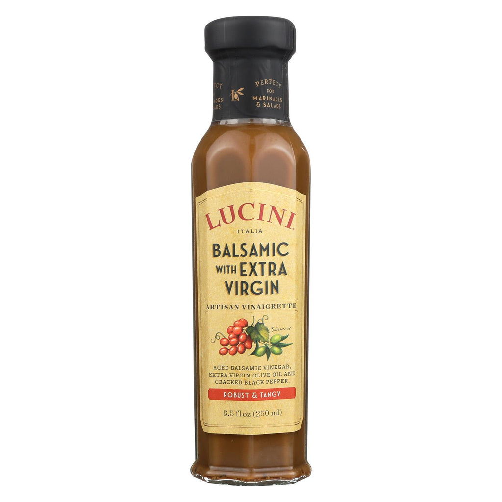 Lucini Italia Tuscan Basil Extra Virgin Olive Oil - Case Of 6 - 8.5 Fl Oz.
