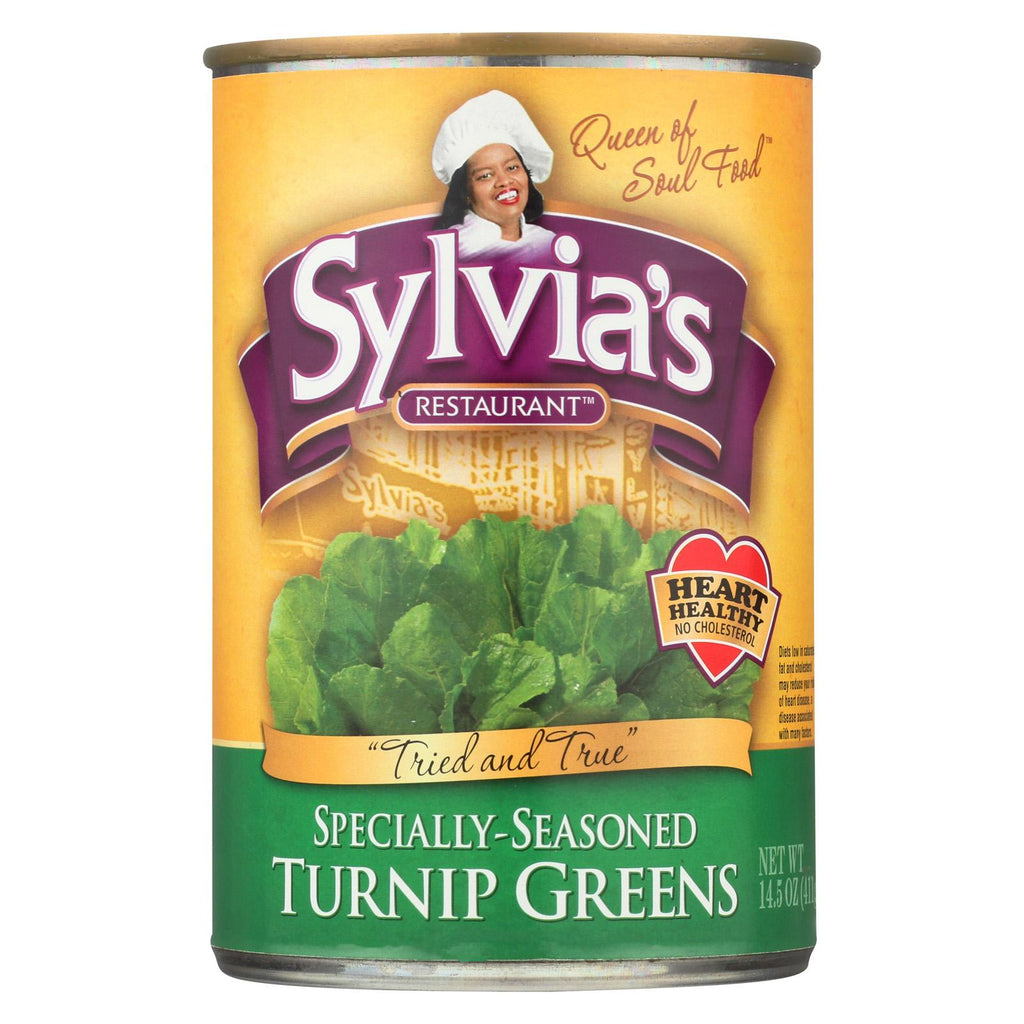 Sylvia's Turnip Greens - Case Of 12 - 14.5 Oz.