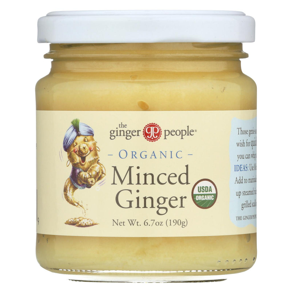 The Ginger People Organic Minced - Case Of 12 - 6.7 Oz.
