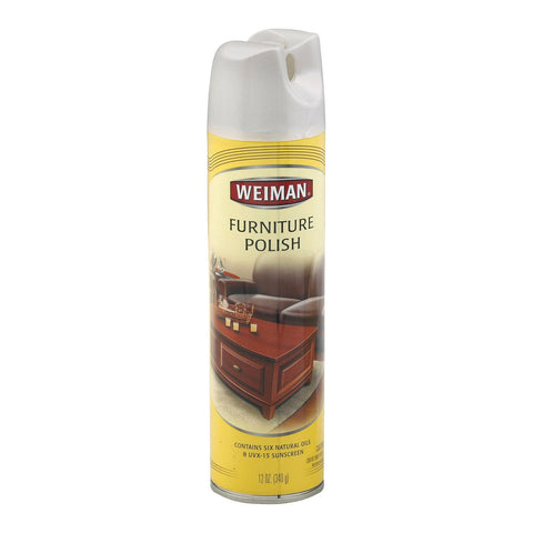 Weiman Furniture Polish - Lemon Spray - Case Of 6 - 12 Oz.
