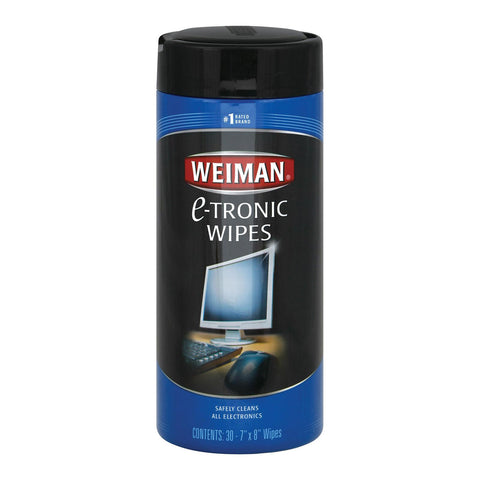 Weiman Electronics Wipes - Case Of 4 - 30 Count