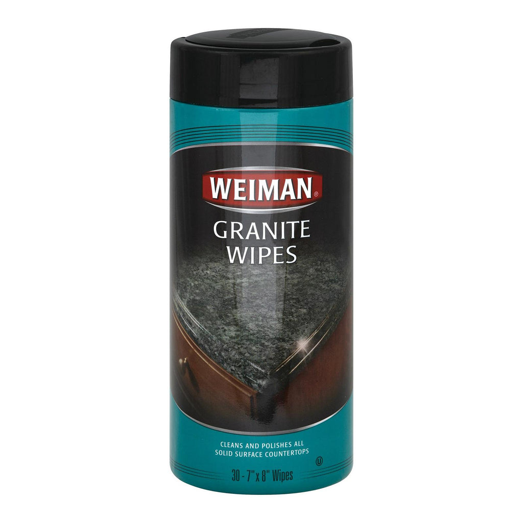 Weiman Granite Wipes - Case Of 4 - 30 Count