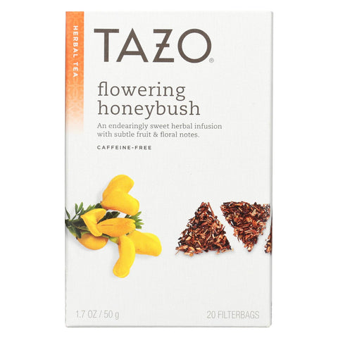 Tazo Tea Tea - Flowering Honeybush - Case Of 6 - 20 Bag