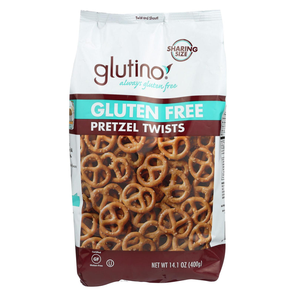 Glutino Pretzels Twists - Case Of 12 - 14.1 Oz.