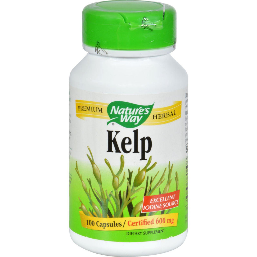 Nature's Way Kelp - 100 Capsules