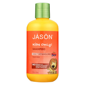 Jason Natural Products Jason Natural Products Detangle Kids Only - Detangling - Case Of 1 - 8 Fl Oz.