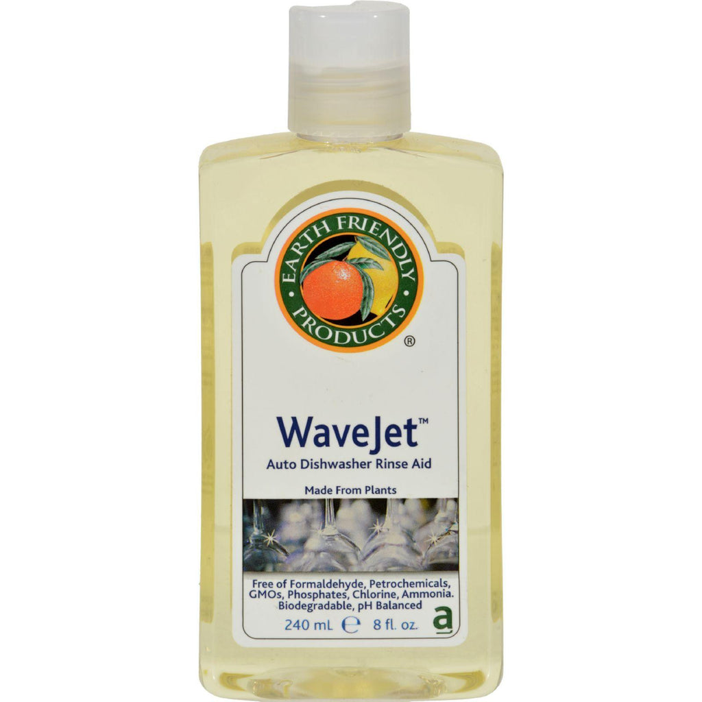 Earth Friendly Wave Jet Rinse Aid - Case Of 12 - 8 Fl Oz