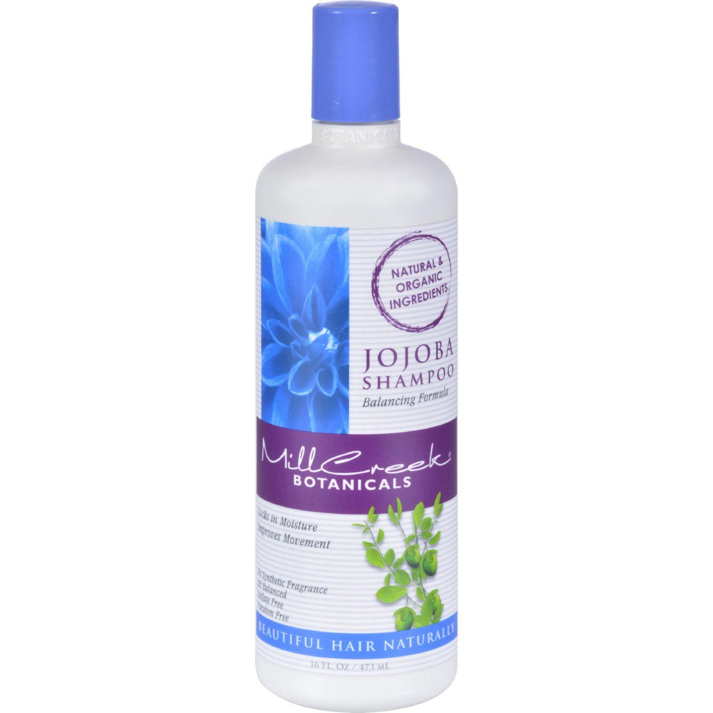 Mill Creek Botanicals Jojoba Shampoo - 16 Fl Oz