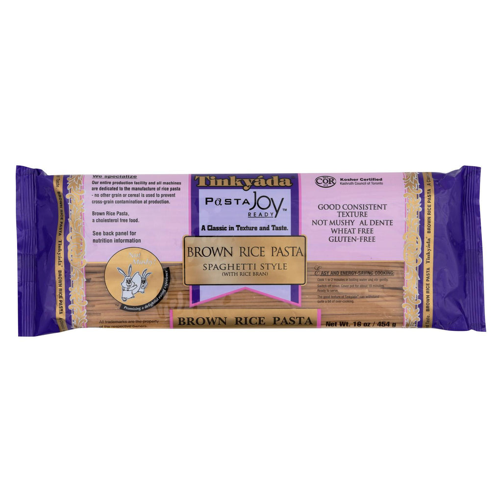 Tinkyada Brown Rice Spaghetti - Case Of 12 - 16 Oz.