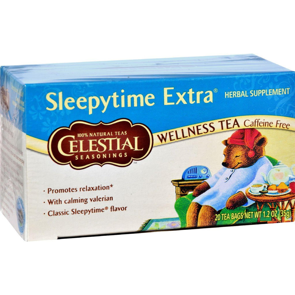 Celestial Seasonings Wellness Tea - Sleepytime Extra - Caffeine Free - 20 Bags