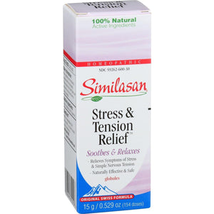 Similasan Healthy Relief - Stress And Tension Relief - Globules - .529 Oz