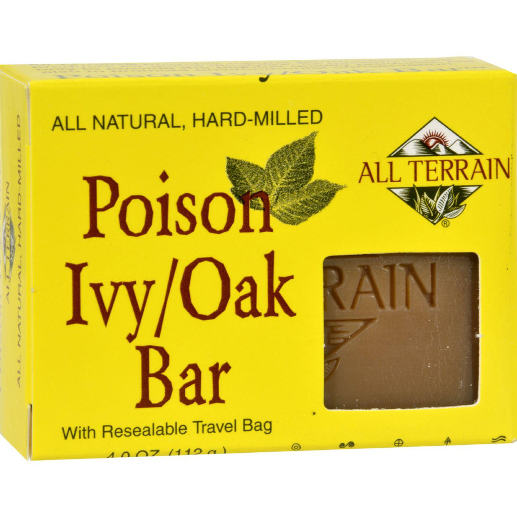 All Terrain Poison Ivy Oak Bar Soap - 4 Oz