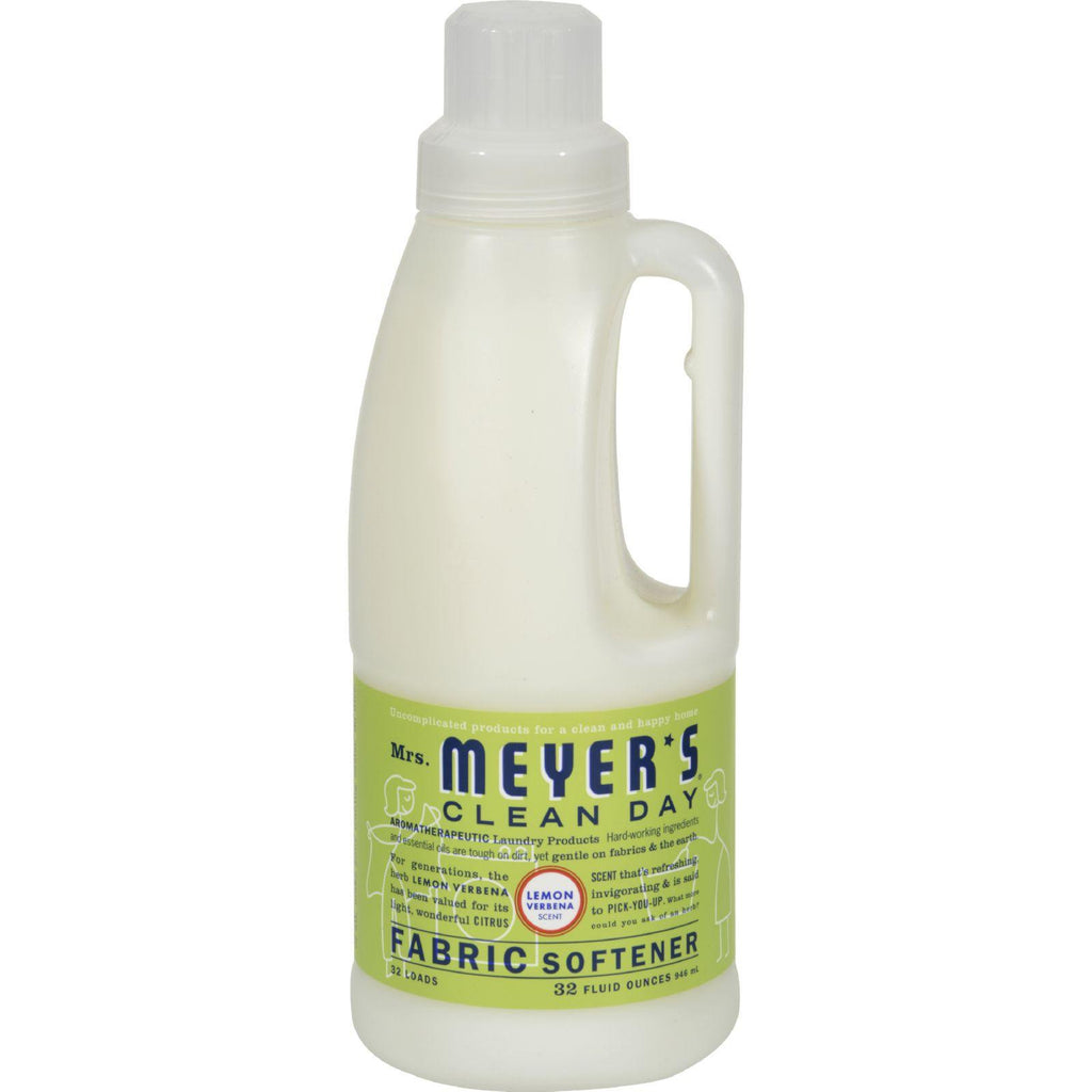 Mrs. Meyer's Fabric Softener - Lemon Verbena - Case Of 6 - 32 Oz