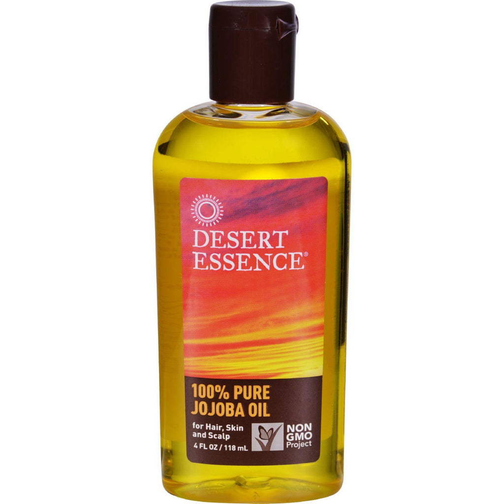 Desert Essence Pure Jojoba Oil - 4 Fl Oz