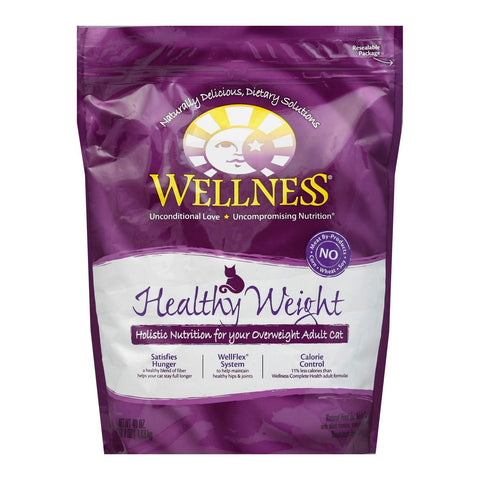 Wellness Pet Products Cat Food - Deboned Chicken, Chicken Meal And Whitefish Meal Recipe - Case Of 6 - 40 Oz.