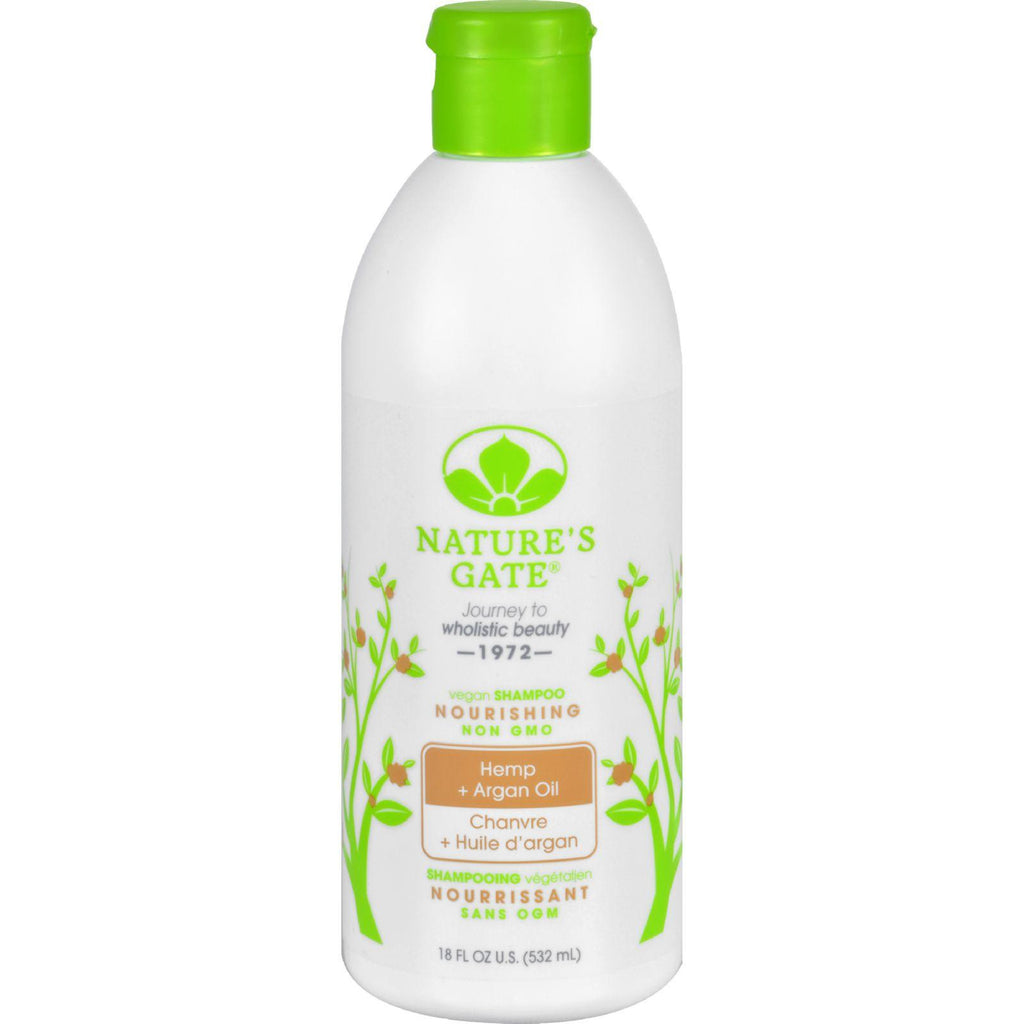 Nature's Gate Hemp Nourishing Shampoo - 18 Fl Oz