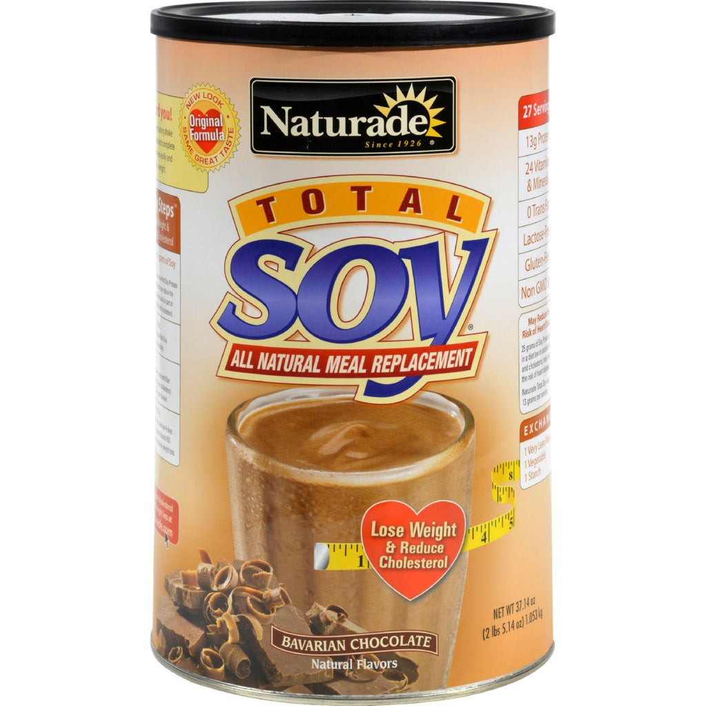 Naturade Total Soy Meal Replacement Bavarian Chocolate - 37.14 Oz