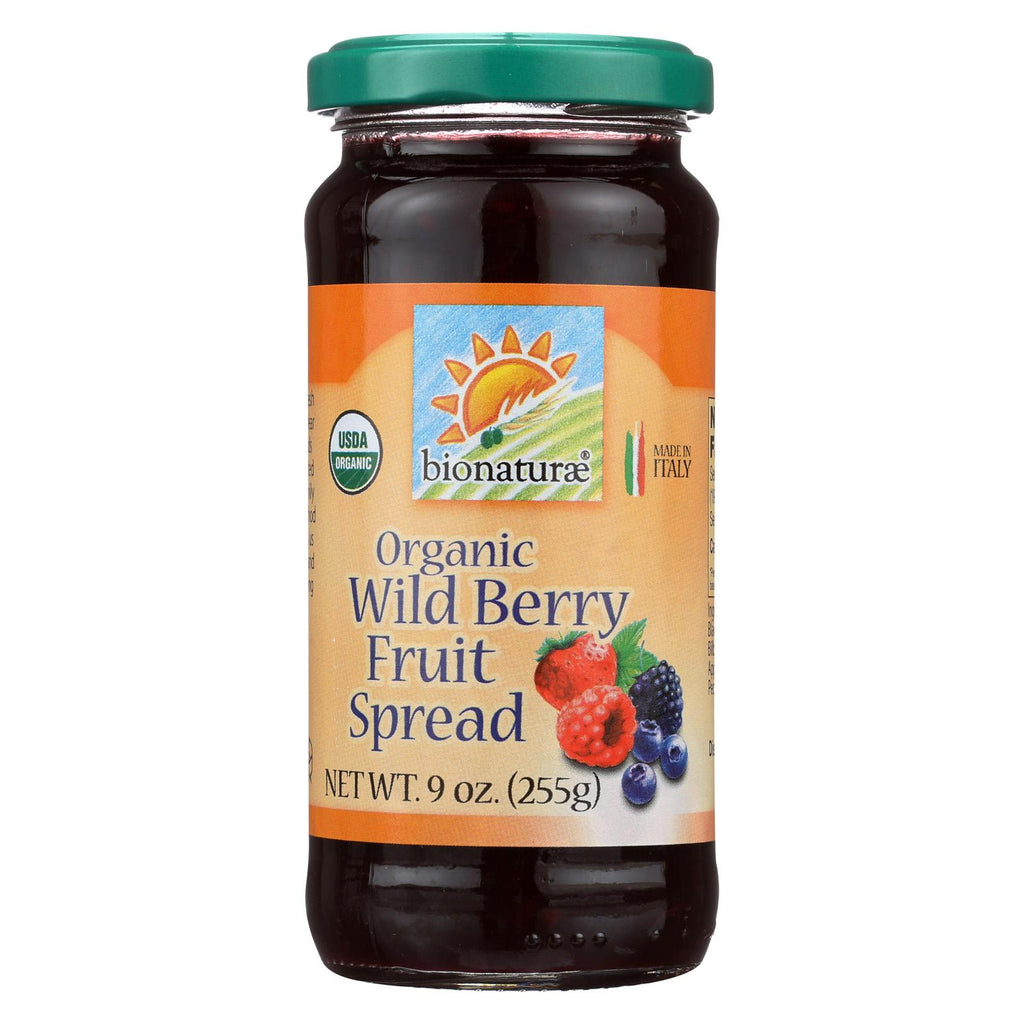 Bionaturae Fruit Spread - Wild Berry - Case Of 12 - 9 Oz.