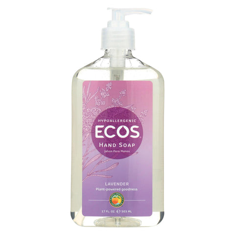 Earth Friendly Hand Soap - Lavender - Case Of 6 - 17 Fl Oz.