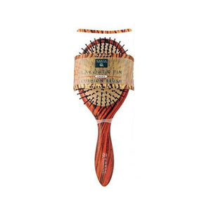 Earth Therapeutics Regular Lacquer Pin Cushion Brush With Tiger Stripe Design - 1 Brush