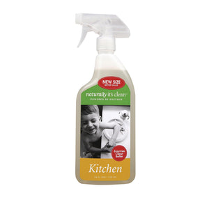 Naturally Clean Kitchen Cleaner Spray - Case Of 6 - 24 Fl Oz.