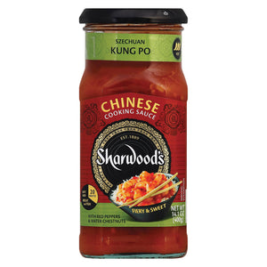 Sharwood Kung Po Cooking Sauce - Case Of 6 - 14.1 Oz.
