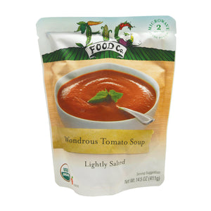 Fig Food Organic Wondrous Tomato - Lightly Salted - Case Of 6 - 14.5 Oz.