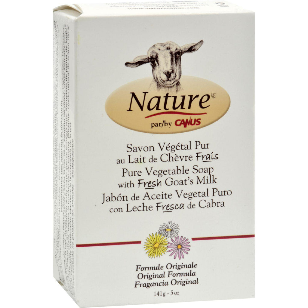Canus Goats Milk Bar Soap - Original Fragrance - 5 Oz
