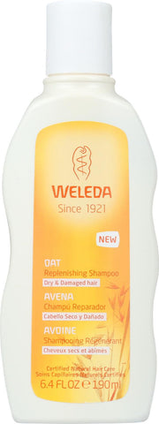 Weleda Shampoo - Oat Replenishing - 6.4 Oz
