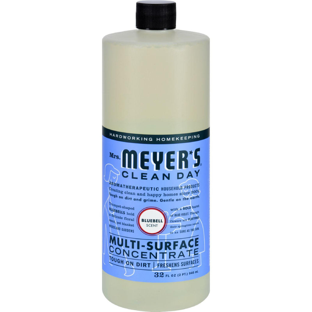 Mrs. Meyer's Multi Surface Concentrate - Blubell - 32 Fl Oz - Case Of 6