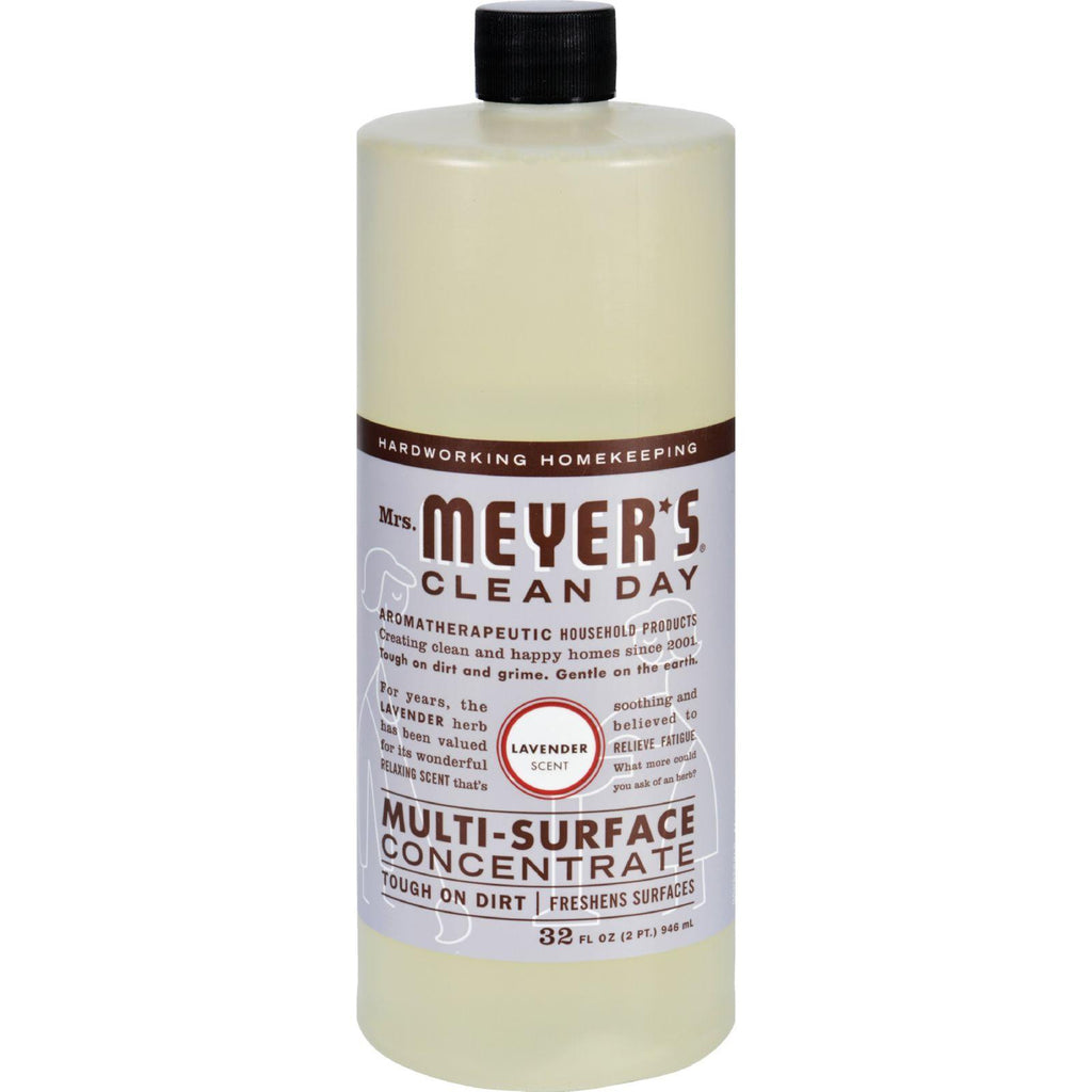 Mrs. Meyer's Multi Surface Concentrate - Lavender - 32 Fl Oz - Case Of 6